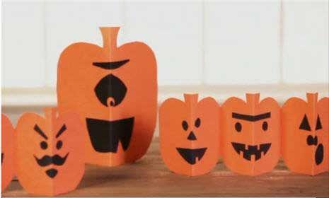 Watch Halloween Kid Craft Paper Pumpkins in the Parents Video