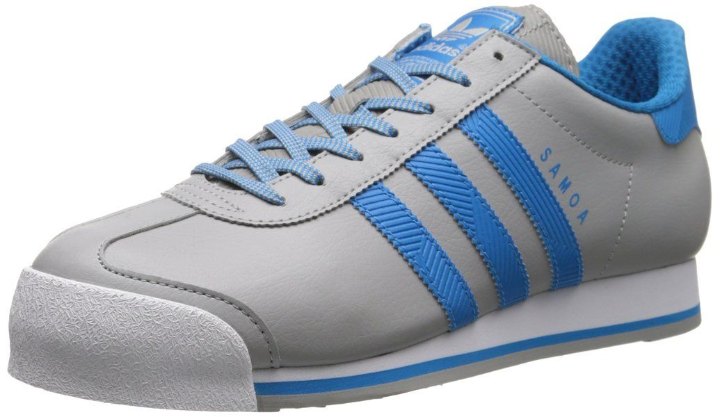 Adidas Originals  mujer 's Samoa W Lace - up Fashion sneaker, Solid Grey