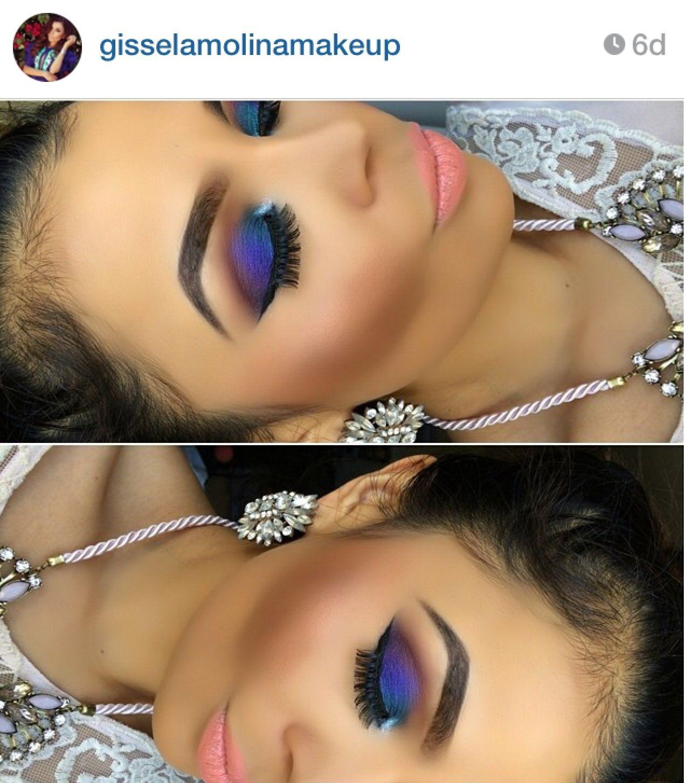 gisselamolinamakeup Beauty and the beat, Makeup, Eye makeup