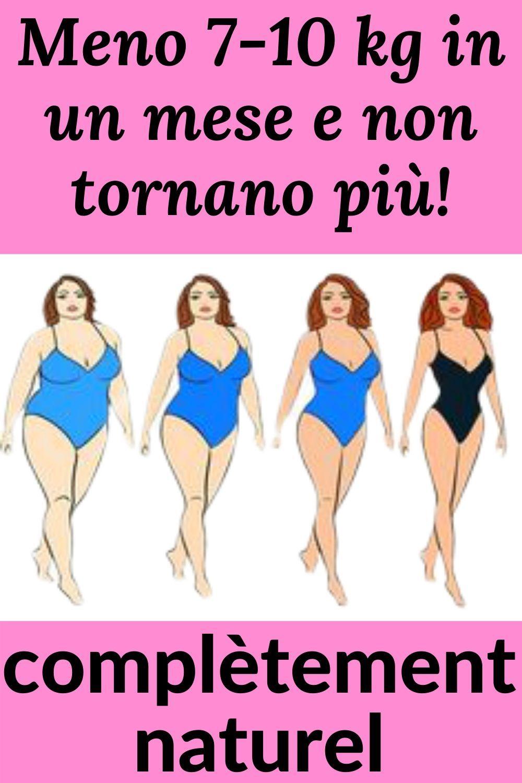 dieta estrema un mese