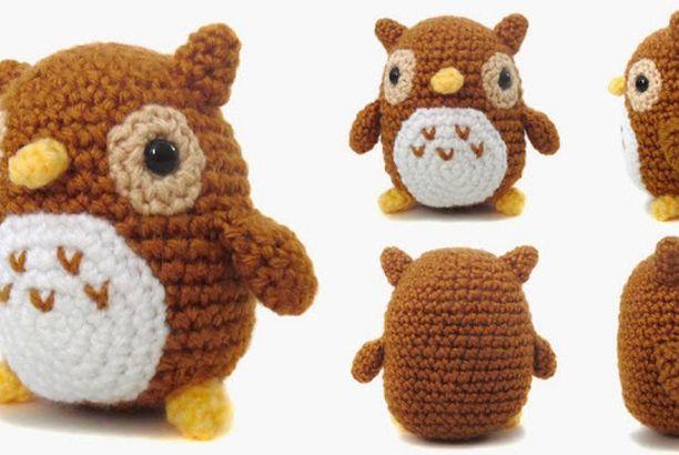 Owl Amigurumi -Free Amigurumi Pattern   Craft Passion   410x612