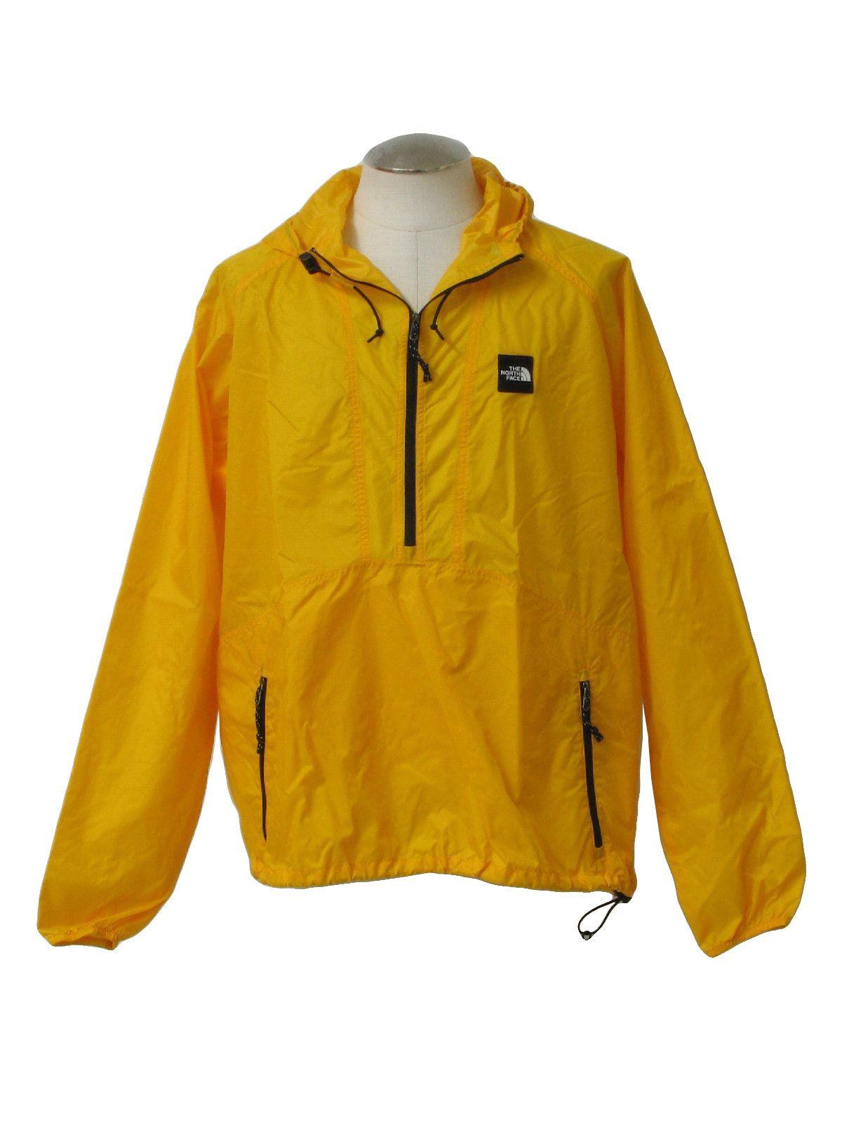 2b8e9da7f 90s -North Face- Unisex sunflower yellow nylon windbreaker tall size ...