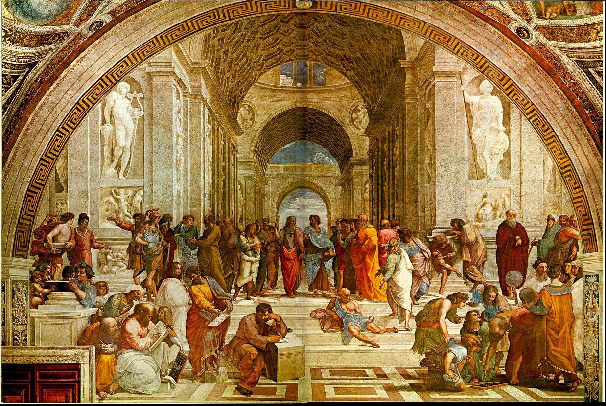 School Of Athens Raphael School Of Athens Renaissance Art Paintings History Painting