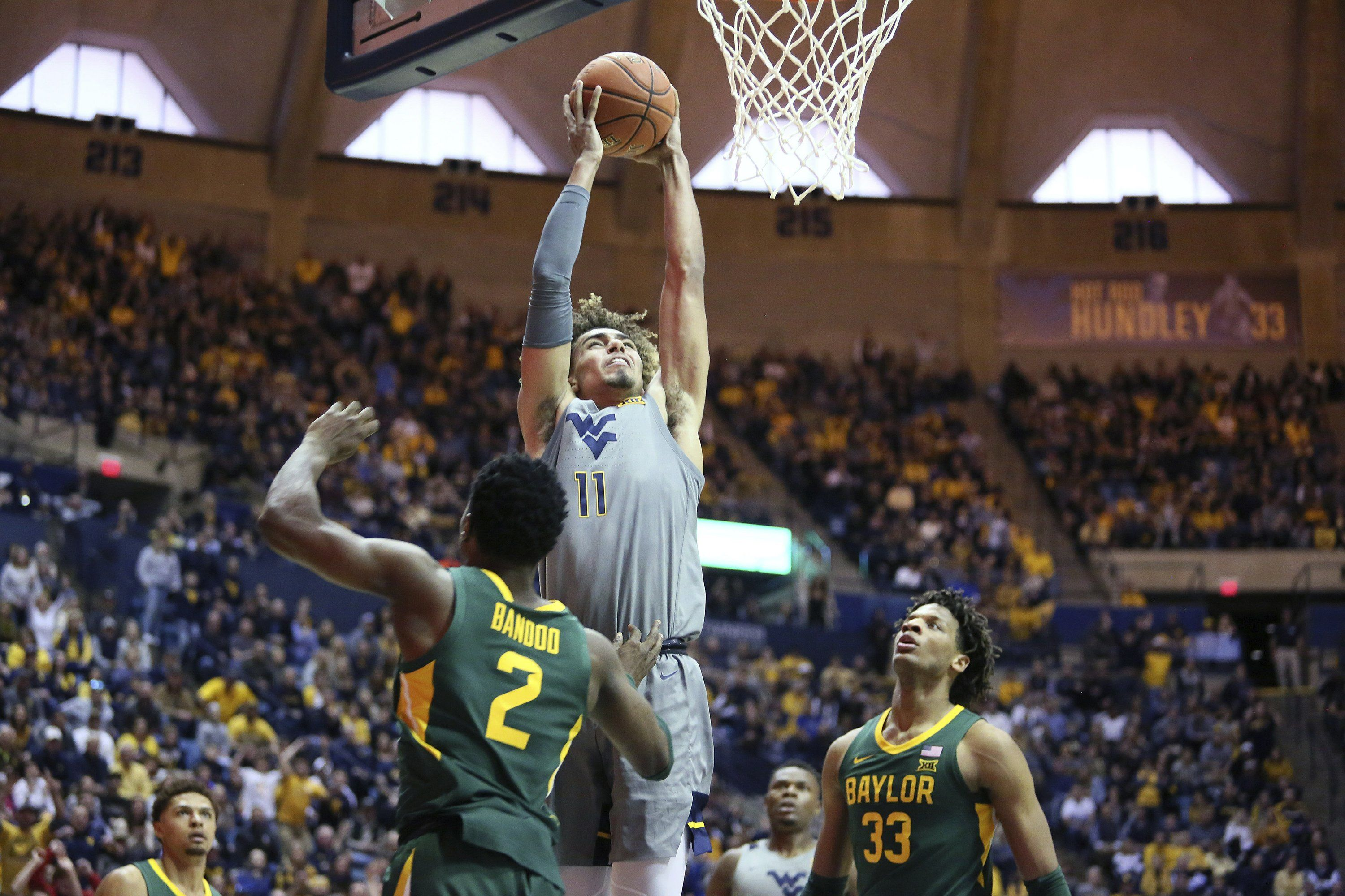 WVU beats No. 4 Baylor, denies Bears chance at league
