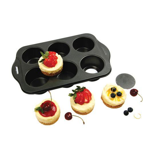 Norpro Mini Cheesecake Pan, 6 cup