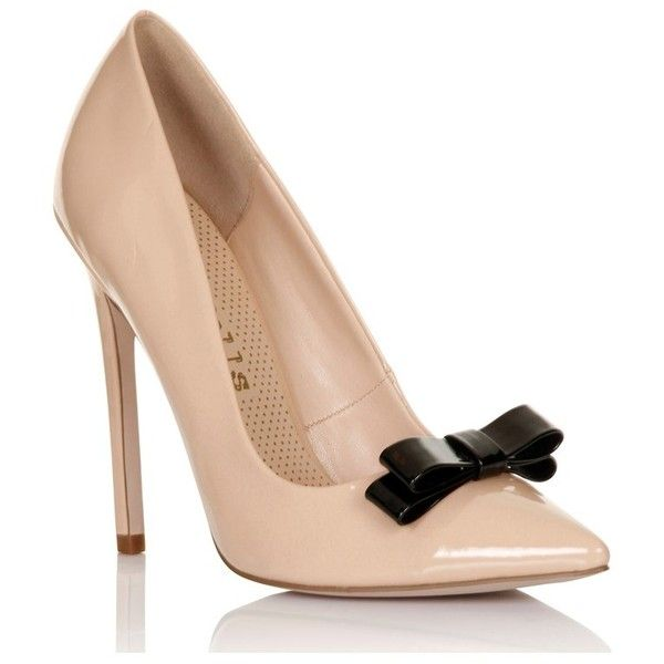 Lipsy Paper Dolls Bow Front Court Shoes