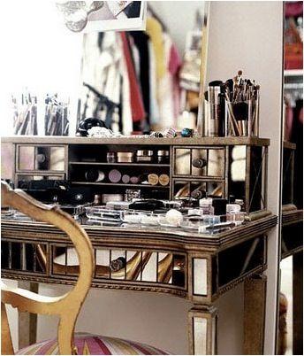 organising make up