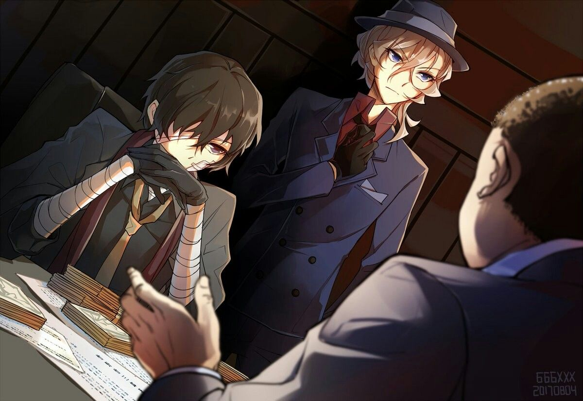 Negotiating With The Boss Himself Stray Dogs Anime Bongou