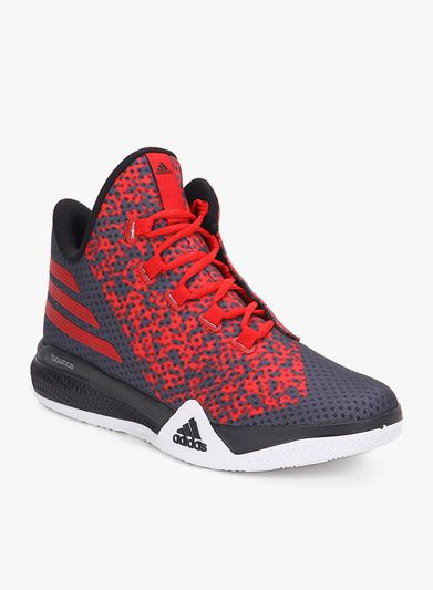 Buy Adidas Light Em Up 2 Grey Basketball Shoes for Men Online India 394f3a5a0