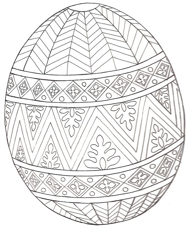 10 cool free printable Easter coloring pages for kids who