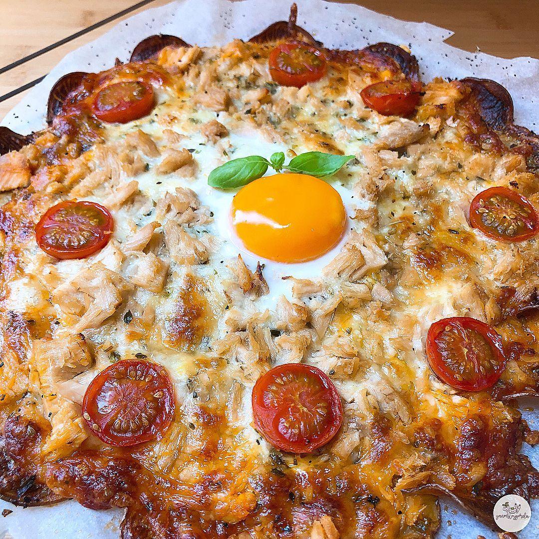 Patatapizza De Bonito Y Huevo Recetas Comida Rapida Comida Fitness Recetas Comida Postres