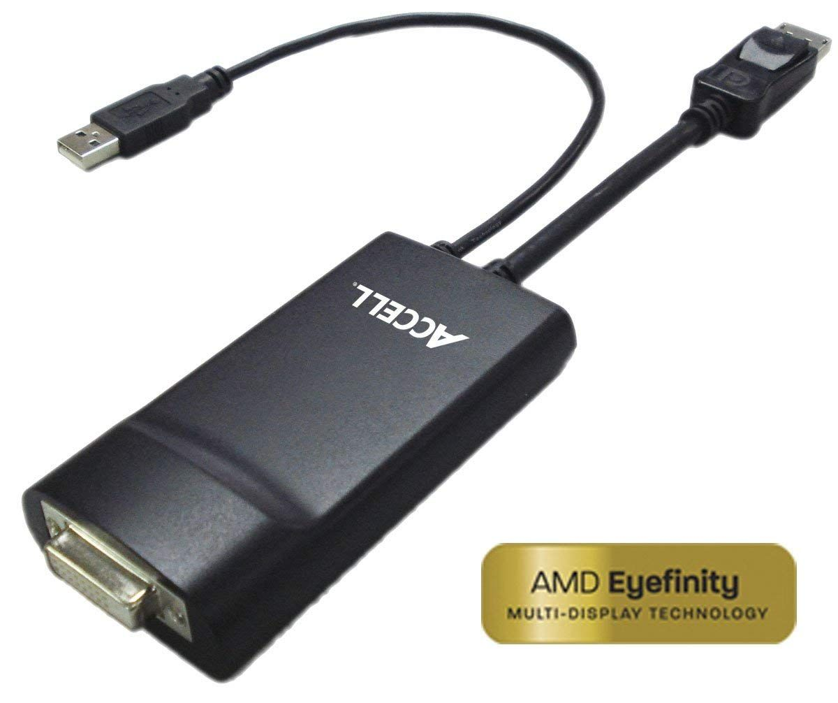 Accell DisplayPort to DVID DualLink Adapter 36 bits