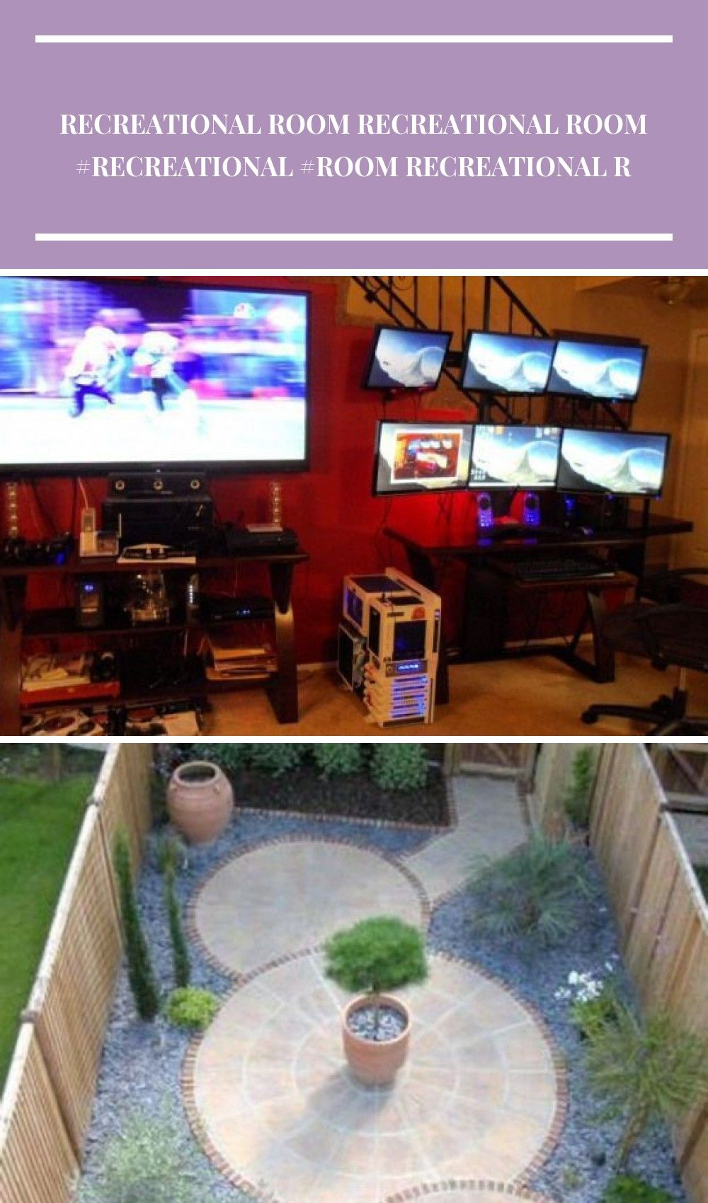 Photo of Rob Schatz's #Gaming Setup #Recreational Room #Recreational Room #Cabinets, #Ca …