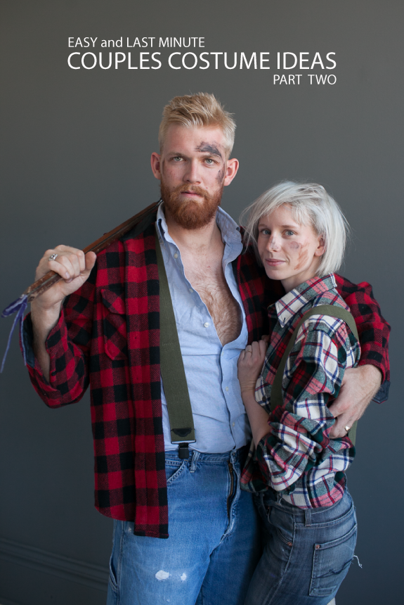 3fbd574dd81d3 Couples Costume for Halloween: Lumberjacks | Say Yes to Hoboken ...