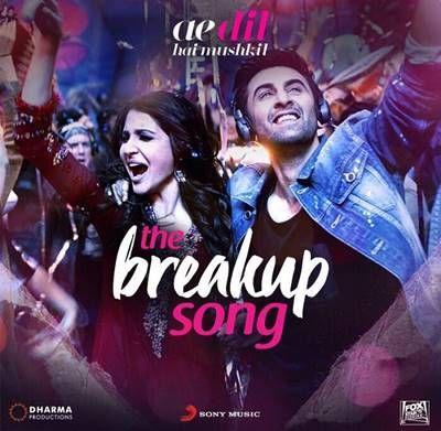 Breakup Song Poster Image Jpg 400 391 Breakup Songs Songs Mp3 Song