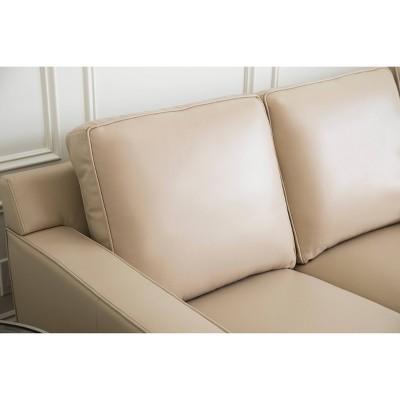 Sensational Olivia 3Pc Top Grain Leather Sofa Loveseat And Armchair Machost Co Dining Chair Design Ideas Machostcouk