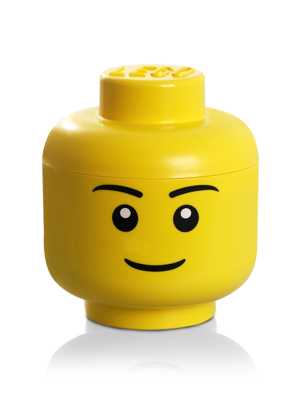 Lego Large Storage Head Boy Null Lego Sort And Store Lego