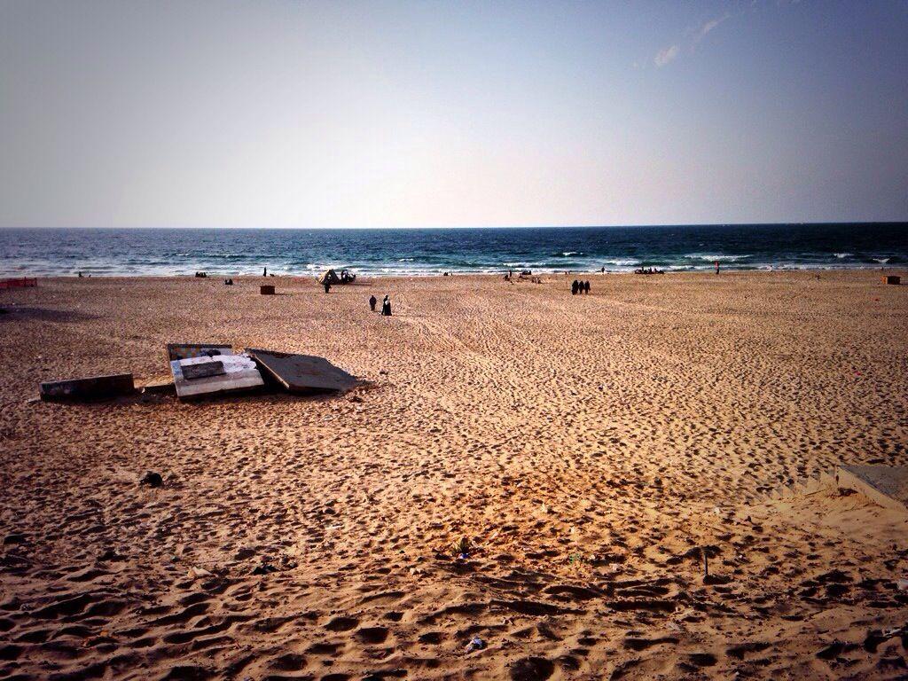 شاطئ بحر غزة Outdoor Sea Water