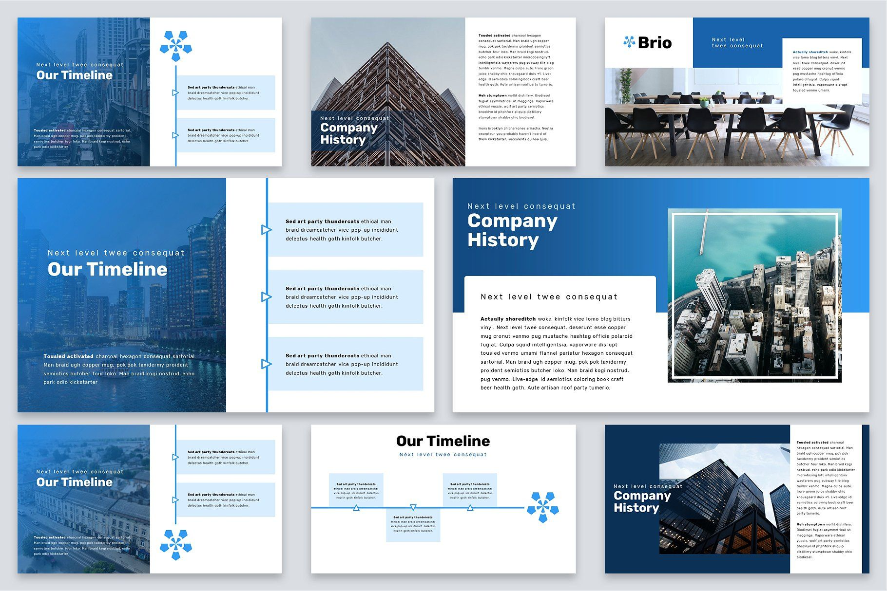Brio Business Powerpoint Template Powerpoint Templates Business