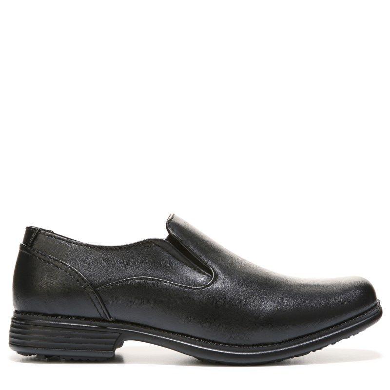 Kids Samuel Medium Wide Slip On Loafer Pre Grade School School Shoes Black Shoes Womens Slippers