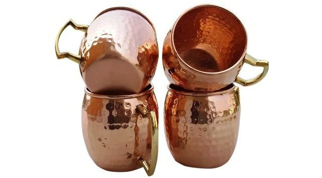 4-Pack of 18 oz. Copper Moscow Mule Mugs $23.00 (amazon.com) - (http://bit.ly/1PvRu2i)