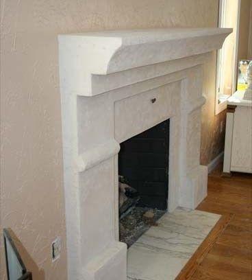 vanitian plaster fireplaces