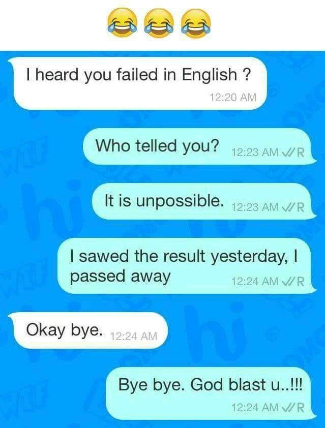 Pin by Blue on Ťëxť m§ĝ§ | Funny joke quote, Text jokes, Funny messages
