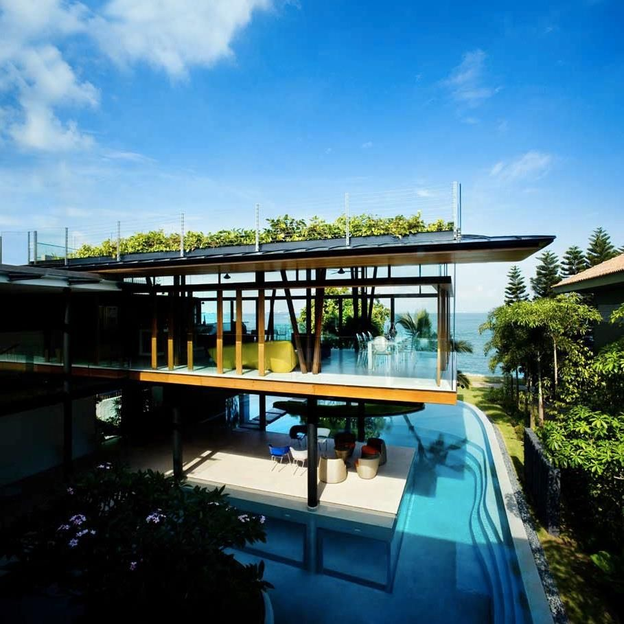 Amazing Fish House / Guz Architects This Modern Tropical Bungalow Encapsulates The  Essence Of Living In The Awesome Ideas