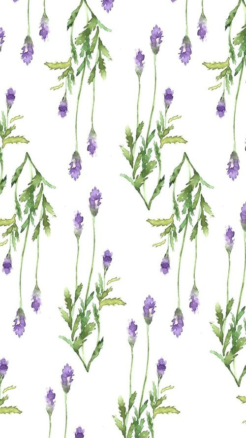 Kartinka S Tegom Background Flowers And Lavender Cute Patterns Wallpaper Homescreen Wallpaper Lavender Aesthetic
