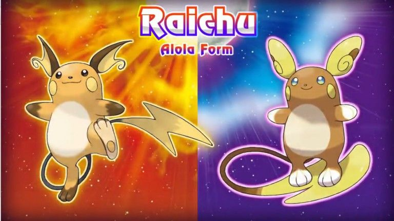 Pokémon Soleil et Lune : Raichu change de forme