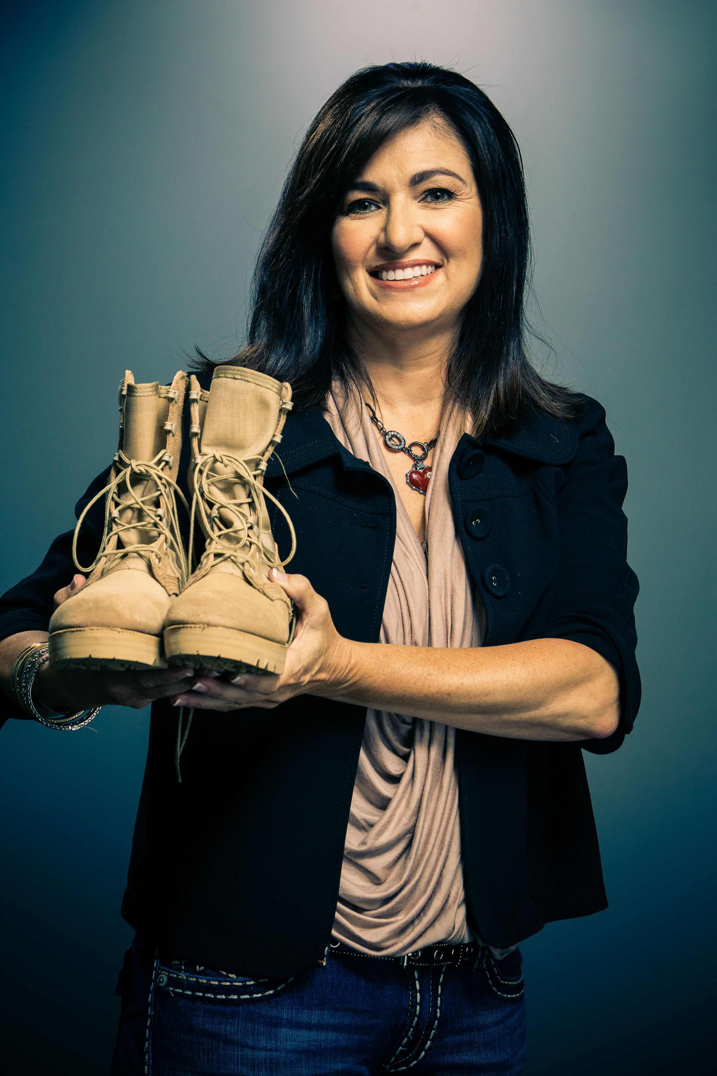 "Veronica Fritz from ""Boot Campaign"" 