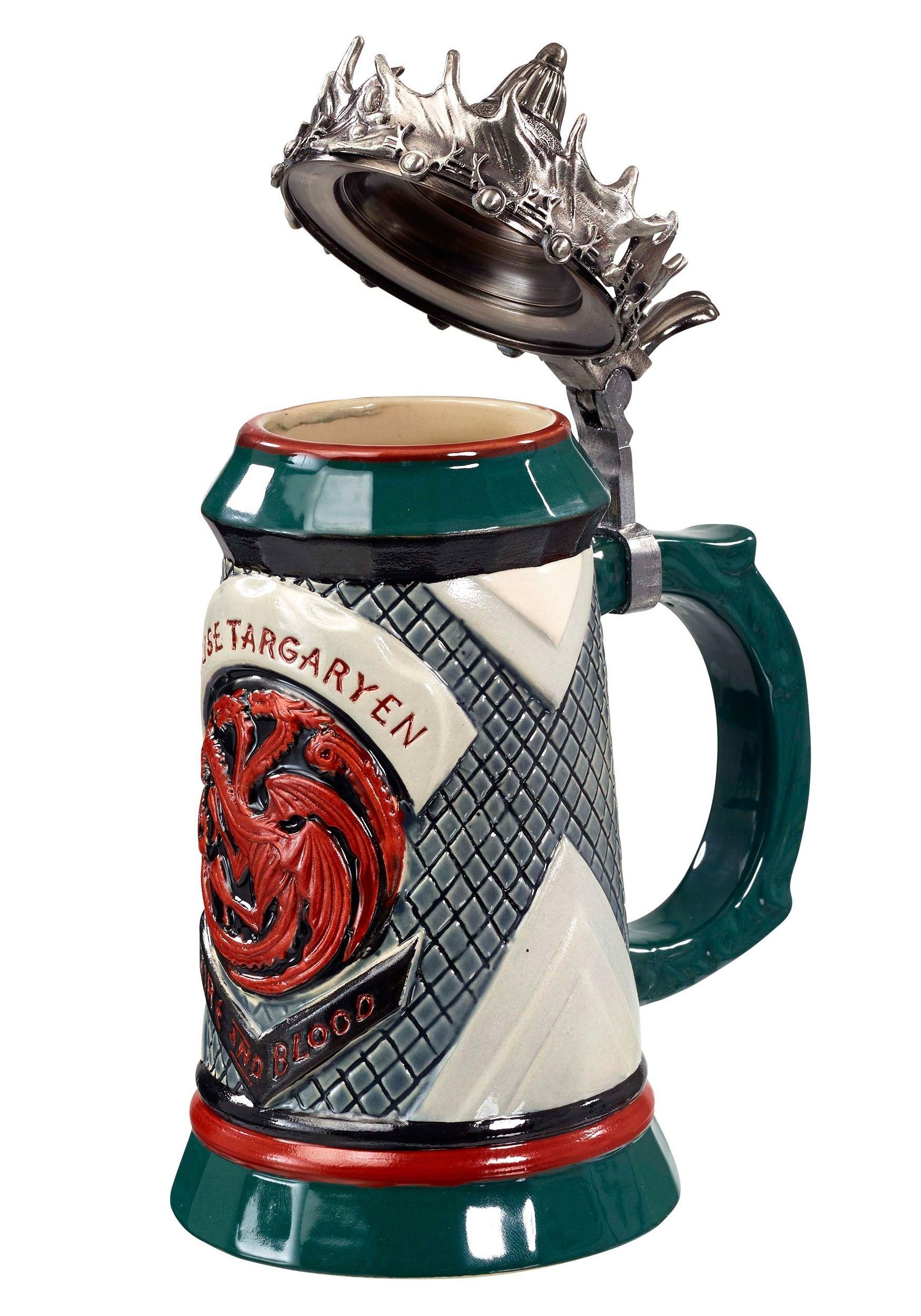 House Targaryen Lidded Stein Beer steins, Beer, Best dad