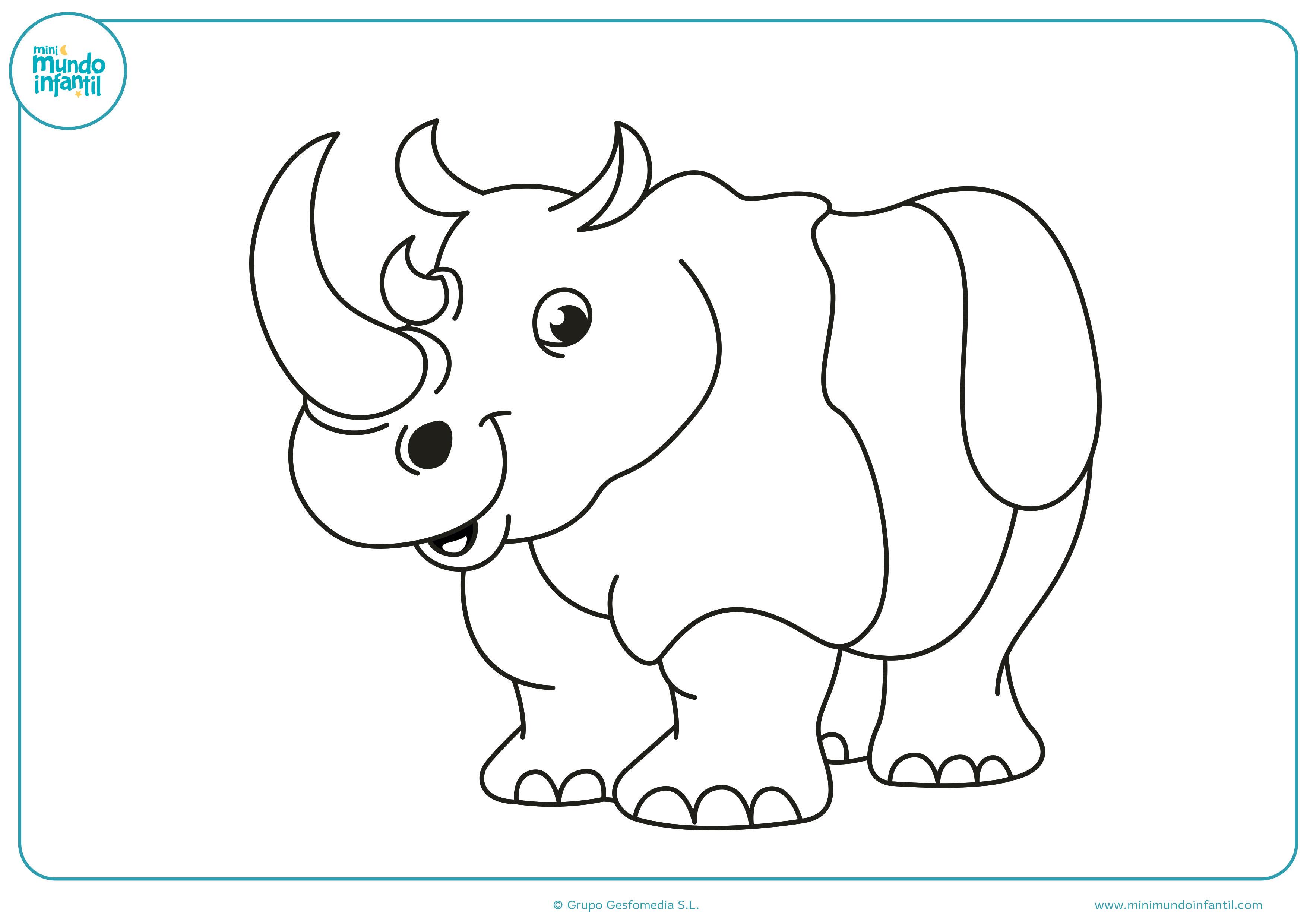 Dibujos De Animales De La Selva Para Colorear Mundo Primaria Dibujos De Animales Animales De La Selva Dibujos