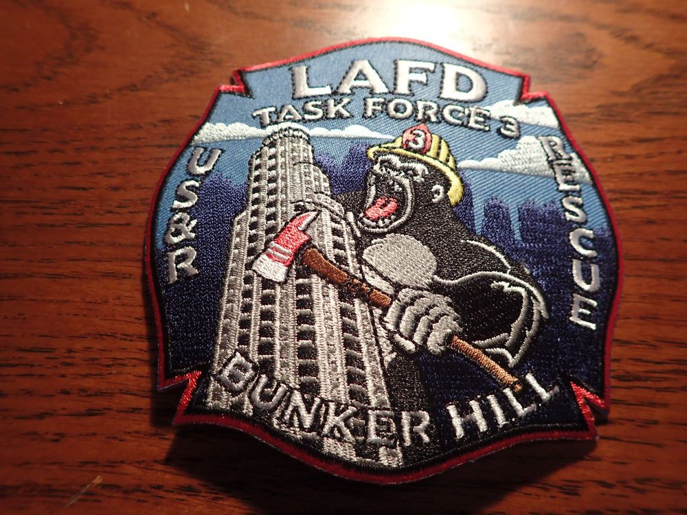 "New County of Los Angeles California 3/"" Round Embroidered Patch City"