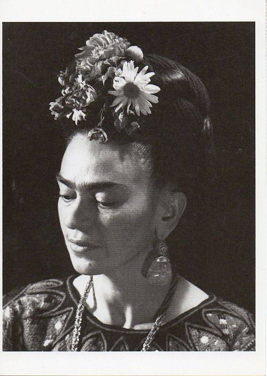 Frida Kahlo In 45 Vintage Photos With Images Black And White