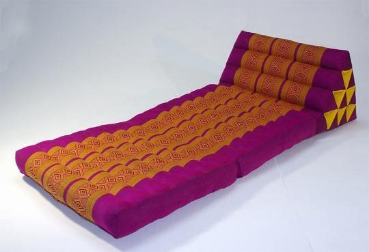 Thai Triangle Pillows: Floor Seating for Crowds   Floor seating ...