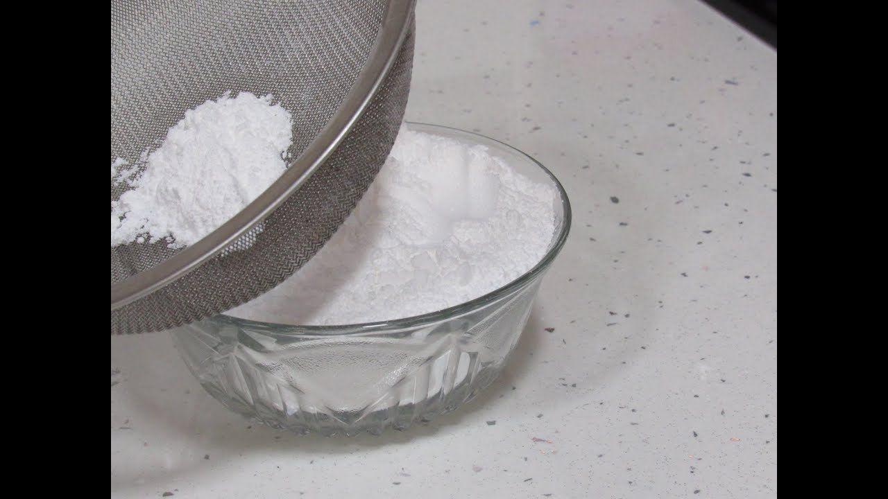 Making Icing Sugar Confectioners Sugar عمل سكر بودرة في دقيقتين مثل الجاهز Condiments Food