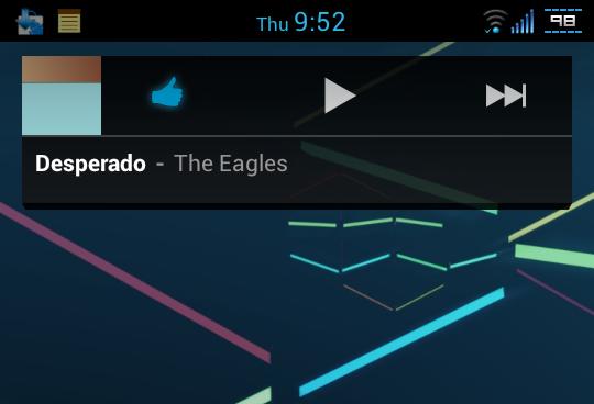 La versión para Jelly Bean de Google Play Music disponible para descarga http://www.xatakandroid.com/p/85730