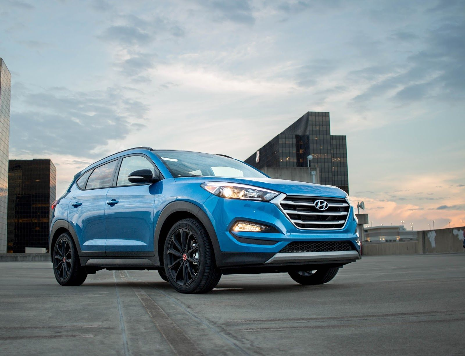 2017 Hyundai Tucson Night Edition A Dark Voyage