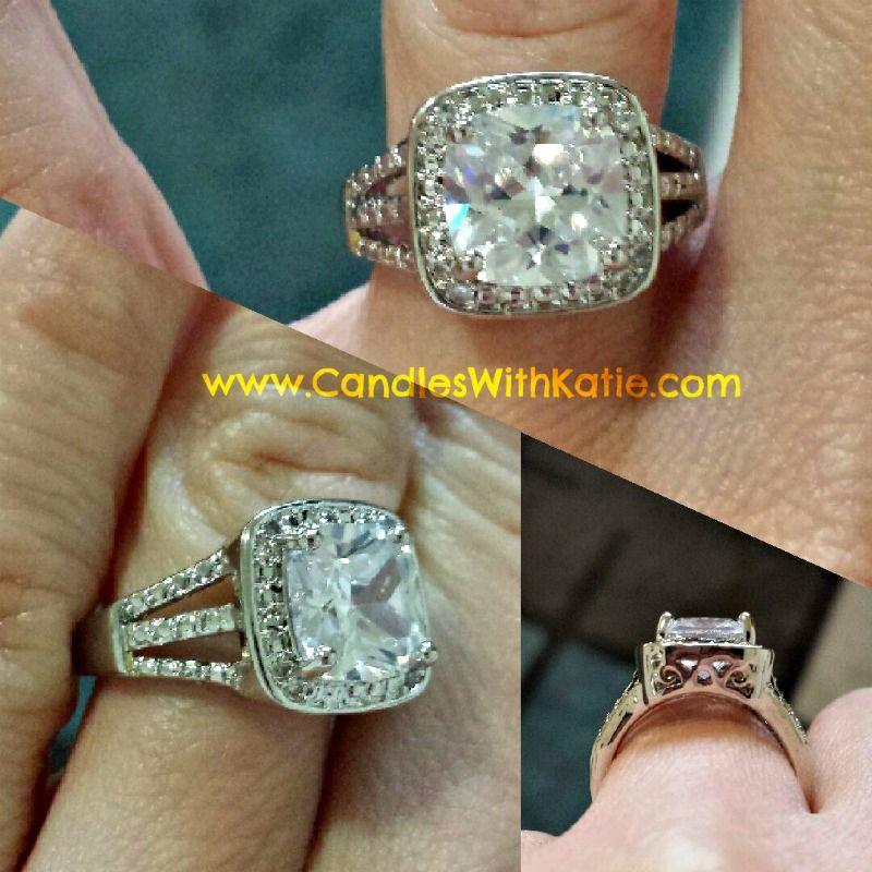 My beautiful ring from my Pumpkin Souffle Tart! #JICReveals www.CandlesWithKatie.com