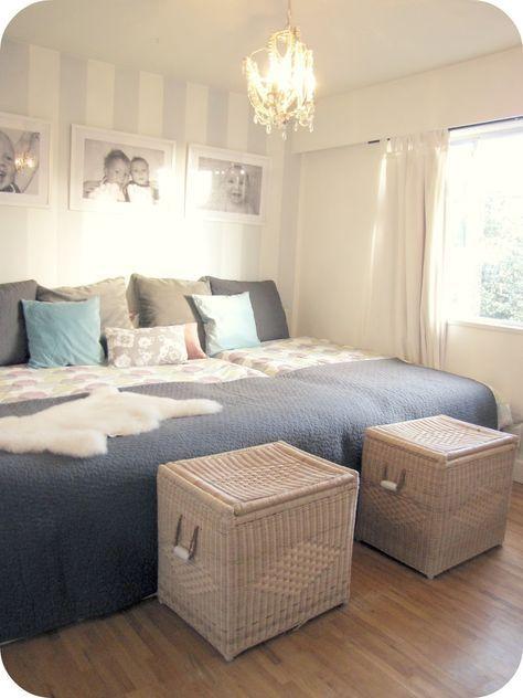 Familienbett Ikea Brimnes – einfach zusammenschieben und fertig
