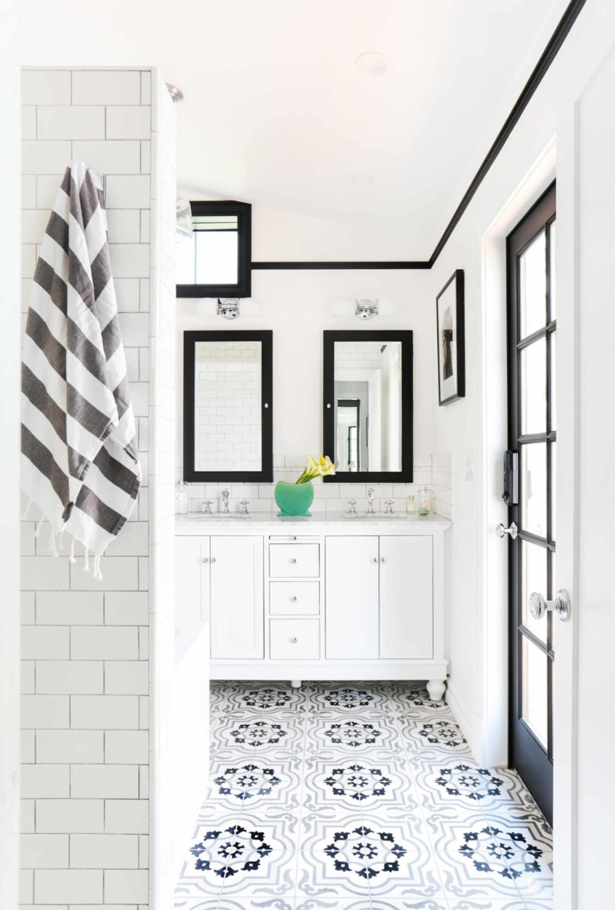 5 Design Tips For The Cement Tile Trend On GrayMalin.com