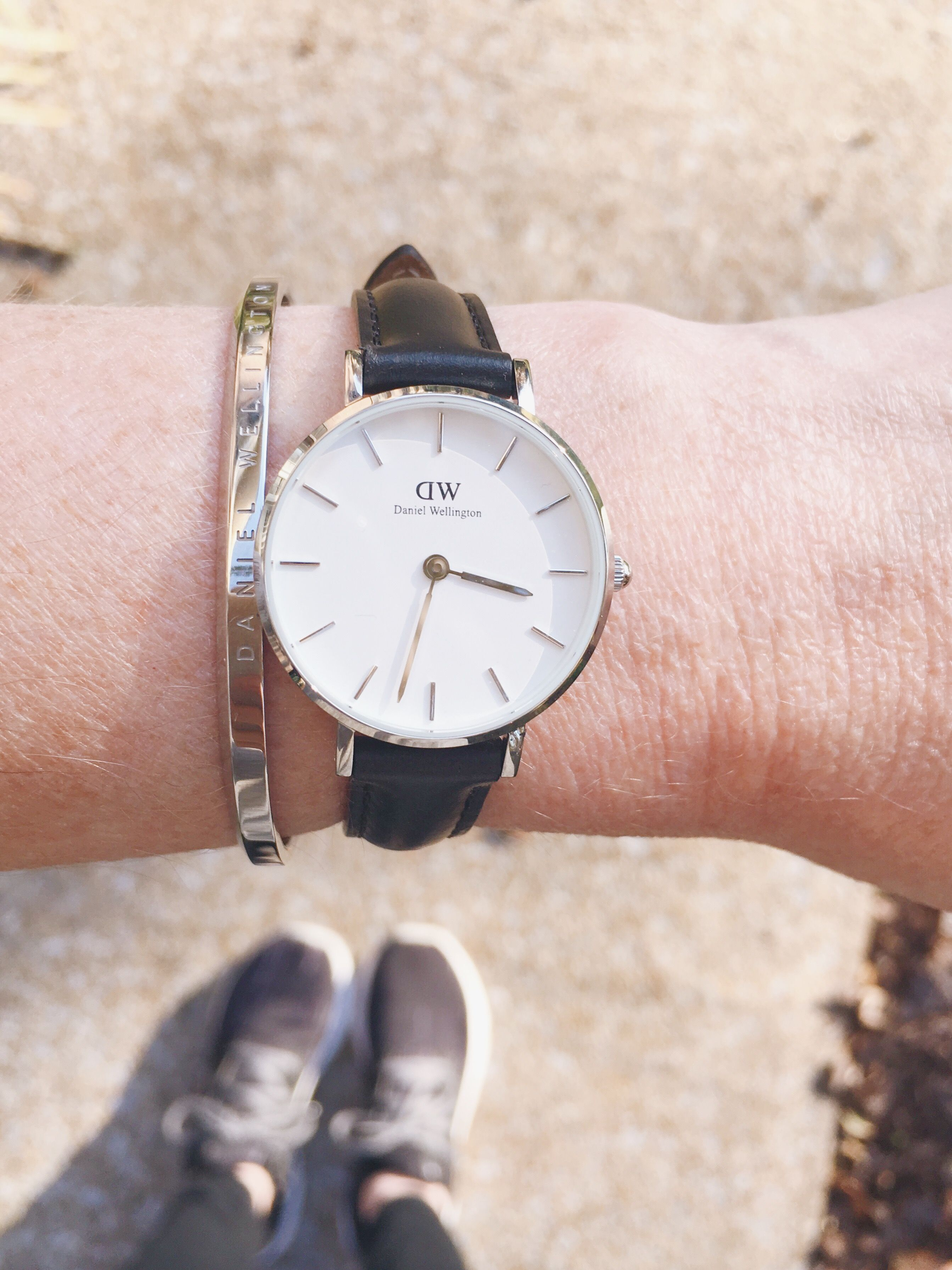 bd286015132c8e Meet the new Daniel Wellington watch...the Classic Petite Sheffield in  silver! Plus, it has a matching cuff available. Use code CLASSYYETTRENDY15  for 15% ...