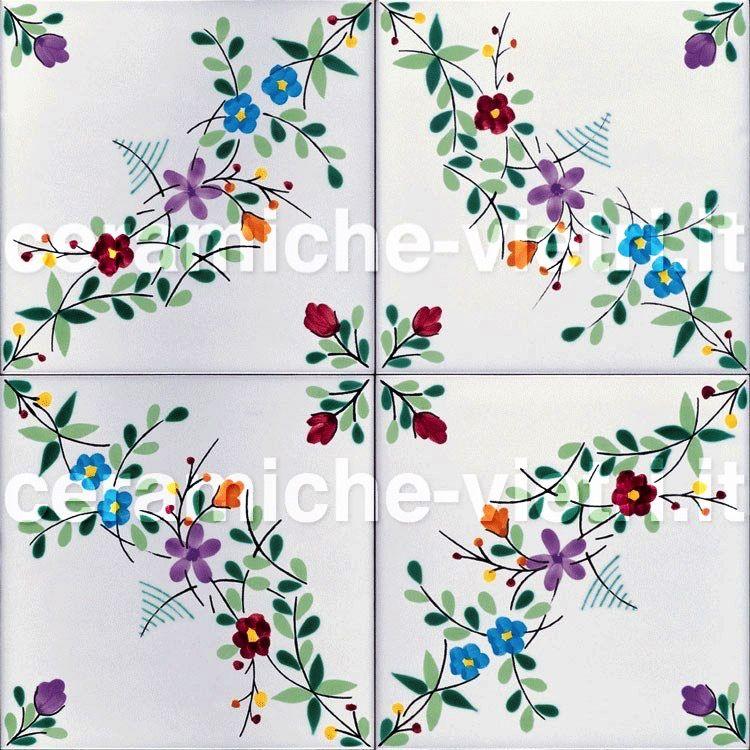 Ceramiche piastrelle 20x20 per pavimenti e rivestimenti ayk world kitchen e napkins - Piastrelle bagno vietri ...