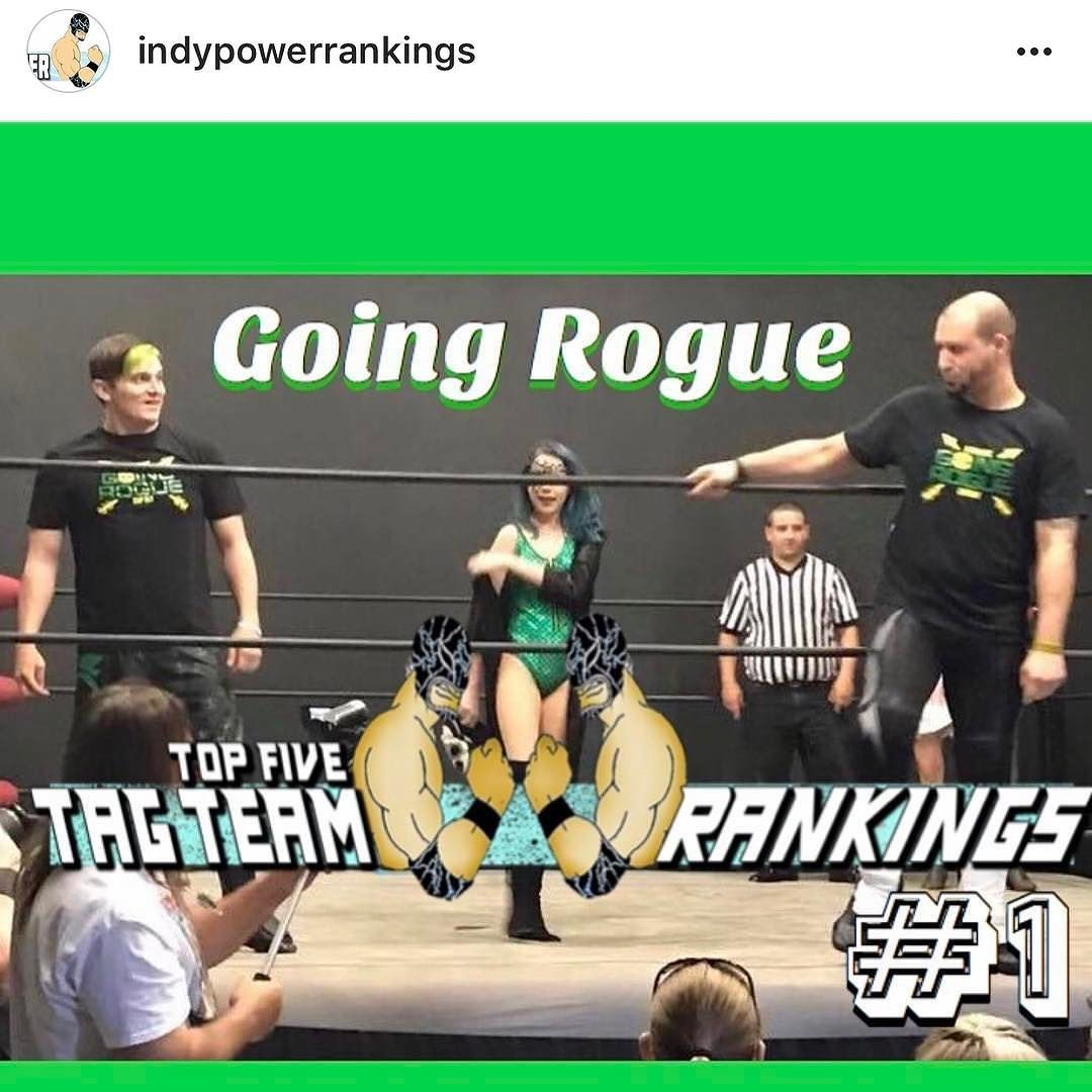 Repost indypowerrankings Congrats to Going Rogue! I