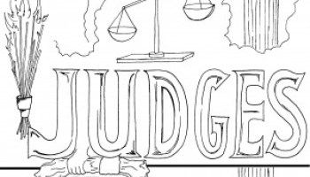 Judges Bible Coloring Page Ideas For Church Bible Coloring