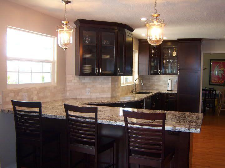 Kraftmaid Peppercorn Cabinet New Kitchen Living Room