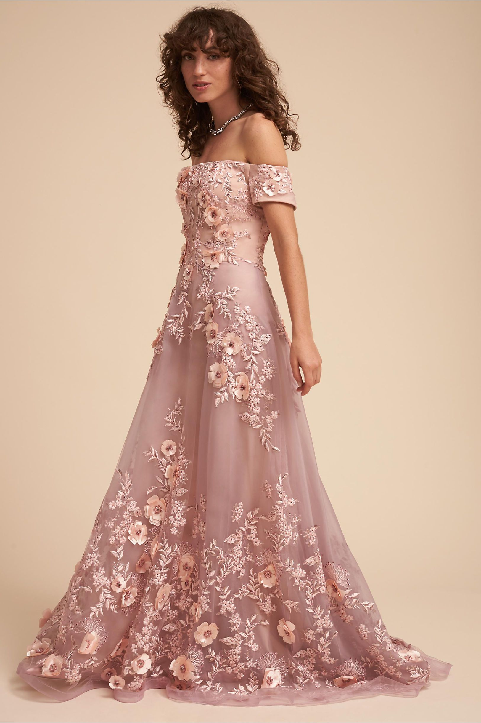 BHLDN Vandra Dress Dusty Rose in Occasion Dresses | BHLDN | Style ...