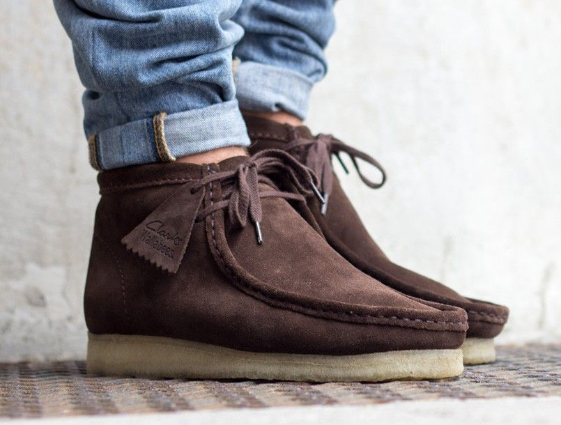 64b3b2479a1 Clarks Wallabee Suede Boot On Sale $30 Off With Free Shipping ...