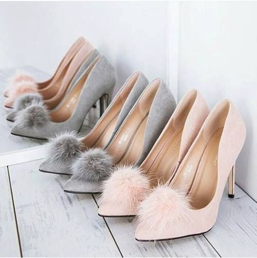 Immagine di shoes, heels, and grey